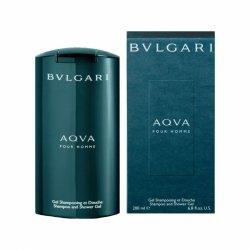 Bvlgari Aqva Pour Homme, żel pod prysznic, 200ml (M)
