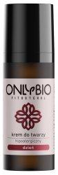 OnlyBio, krem do twarzy na dzień, hipoalergiczny dla skóry wrażliwej, 50ml