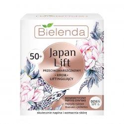 Bielenda Japan Lift, liftingujący krem przeciwzmarszczkowy 50+, 50ml