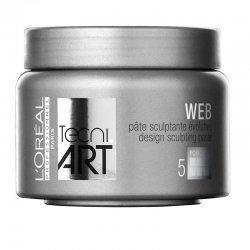 Loreal Tecni Art 2014 Web, włóknista pasta rzeźbiąca, 150ml