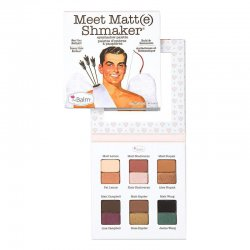 The Balm Meet Matt(e) Shmaker, paleta cieni do powiek