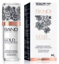 Bandi Gold Philosophy, peptydowy booster redukujący zmarszczki, 30ml