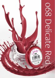 Semilac UV Gel Color 068 Delicate Red, 5ml