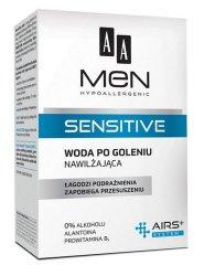 AA MEN Sensitive, woda po goleniu nawilżająca, 100 ml