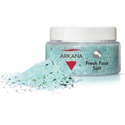Arkana Fresh Foot Salt, odświeżająca sól do kąpieli stóp, 350g