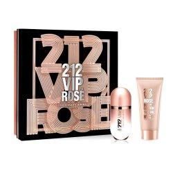 Carolina Herrera 212 VIP Rose, zestaw perfum EDP 80ml + 100ml balsam (W)