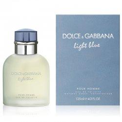 Dolce & Gabbana Light Blue Pour Homme, woda toaletowa, 125ml (M)