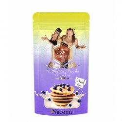 Nacomi Fit Lovers, peeling kawowy Pankejki z Borówkami, 300g