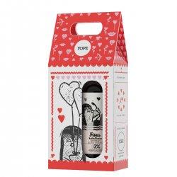 Yope, zestaw prezentowy: mydło Róża i Kadzidłowiec 400ml + balsam Wanilia 300ml