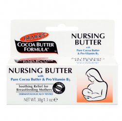 Palmers Nursing Butter, pielęgnacyjny krem do biustu w okresie laktacji, 30g