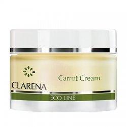 Clarena Eco Line, krem z marchewk� wyr�wnuj�cy koloryt, 50ml