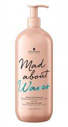 Schwarzkopf Mad About Waves, szampon bez siarczanów do włosów falowanych, 1000ml
