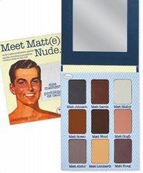The Balm, Meet Matte(e) Nude, paleta cieni, 21,6g