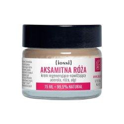 Iossi Aksamitna Róża, krem regenerująco-nawilżający, 15ml