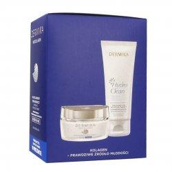 Dermika Neocollagen, krem naprawczy 60+, dzień/noc, 50ml + PREZENT Żel do mycia twarzy 150ml