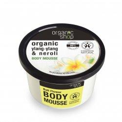 Organic Shop, naturalny ujędrniający mus do ciała Ylang-ylang, 250ml