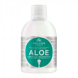 Kallos KJMN Aloe, szampon regeneracyjno-nawilżający, 1000ml