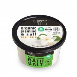 Organic Shop, naturalna energetyzująca sól do kąpieli Kaszmir&Jaśmin, 250ml