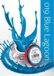 Semilac UV Gel Color 019 Blue Lagoon, 5ml