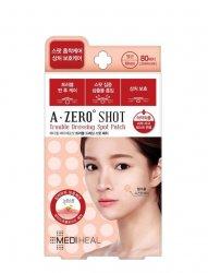 Mediheal A Zero Shot, plasterki na wypryski hydrokoloidowe na niedoskonałości, 80szt.