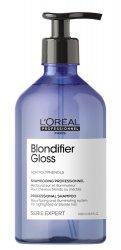 Loreal Blondifier Gloss, szampon nabłyszczający do włosów blond, 500ml