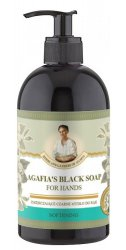 Babuszka Agafia, zmiękczające czarne mydło do rąk na bazie 37 Ziół, 500ml