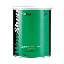Peggy Sage, wosk do depilacji rozpuszczalny w letniej temperaturze, zielony, 800ml, ref. 601052