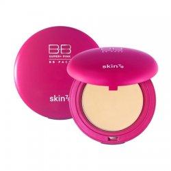 Skin79 Pact Pink, matujący puder w kompakcie, 15g