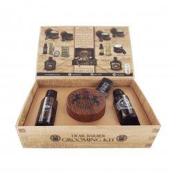 Dear Barber Style & Go Collection - Fibre, zestaw: szampon 50ml, tonik 30ml, pasta włóknista 100ml