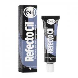 RefectoCil henna brwi i rzęs, kolor 2 czerń granatu, 15ml
