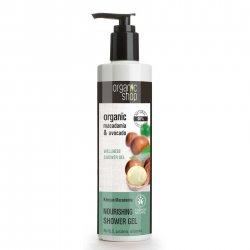 Organic Shop, odżywczy żel pod prysznic Macadamia&Avocado, 280ml