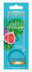Bielenda Exotic Paradise Figa, 2w1 peelingujący żel do kąpieli i pod prysznic