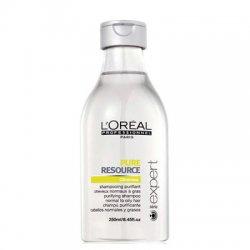 Loreal Pure Resource, szampon do włosów przetłuszczających się, 250ml