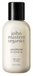 John Masters Organics, delikatna odżywka do włosów, Cytrus i Gorzka Pomarańcza, 60ml
