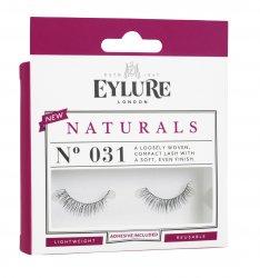 Eylure Naturals, sztuczne rzęsy samoprzylepne, efekt naturalny, nr 031