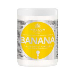 Kallos KJMN Banana, maska bananowa wzmacniająca, 1000ml