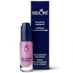 Herome Nail Growth Explosion, serum do paznokci po żelu lub tipsach, 7 ml