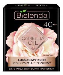 Bielenda Camellia Oil, luksusowy krem przeciwzmarszczkowy 40+, 50ml