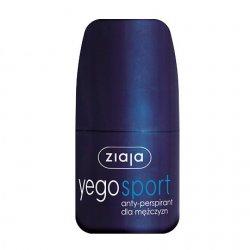 Ziaja Yego, anty-perspirant sport dla mężczyzn/Roll-On, 60ml