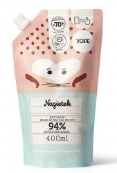 Yope, mydło dla dzieci, Nagietek, 400ml, refill
