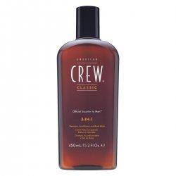 American Crew Tea Tree, 3w1 szampon + odżywka + żel do kąpieli, 450ml