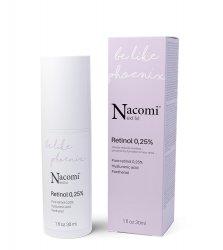 Nacomi Next Level, przeciwzmarszczkowe serum z retinolem 0,25%, 30ml