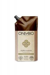 OnlyBio, mydło w płynie, hipoalergiczne, refill pack 500ml