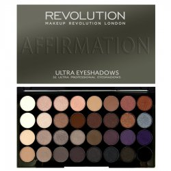 Makeup Revolution, paleta 32 cieni do powiek, Affirmation