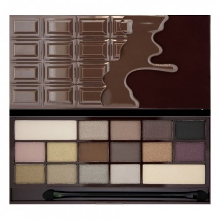 Makeup Revolution, paleta cieni do powiek, Death By Chocolate