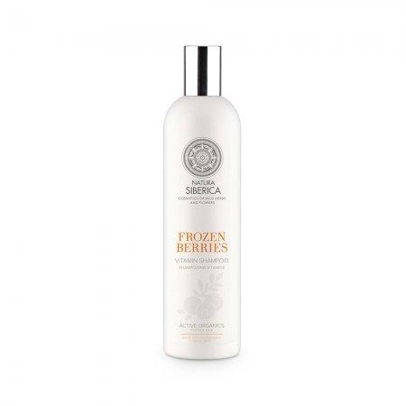 Natura Siberica Frozen Berries, witaminowy szampon do włosów przetłuszczających się, 400ml