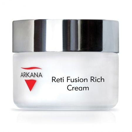 Arkana Reti Fusion Rich Cream, odżywczy krem na noc z retinolem i kwasem ferulowym, 50ml