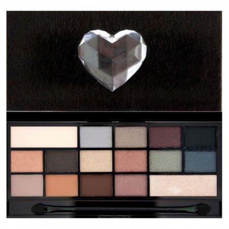 Makeup Revolution, paleta cieni do powiek, Naked Underneath Faux Fur
