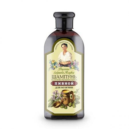 Babuszka Agafia, piwny szampon dla mężczyzn, 350ml