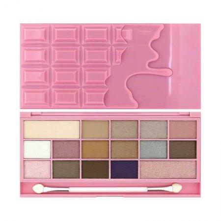 Makeup Revolution, paleta cieni do powiek, I Heart Chocolate Pink Fizz